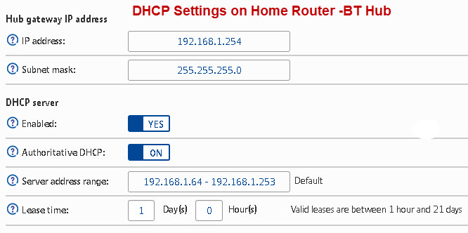 DHCP-Settings-Home-Router
