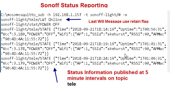 Setting up the Sonoff Tasmota MQTT Switch