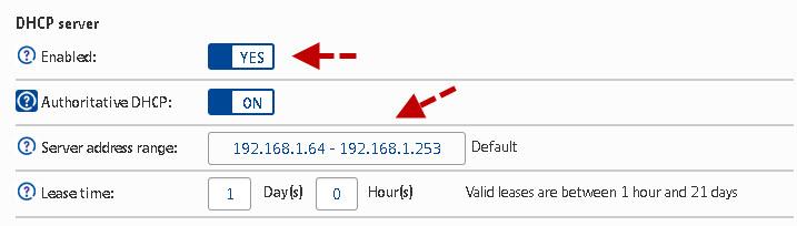 dhcp-server-settings