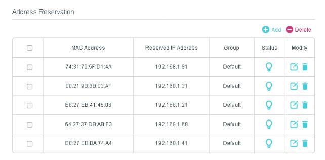 dhcp-static-Ip-address