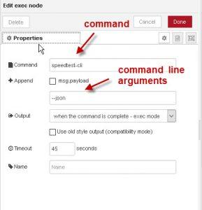 node-red-external-command-speedtest