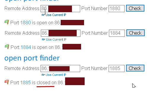 open-port-checker