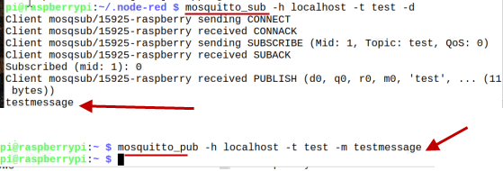 test-mosquitto-broker-pi