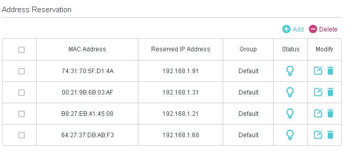 tp-link-address-reservation